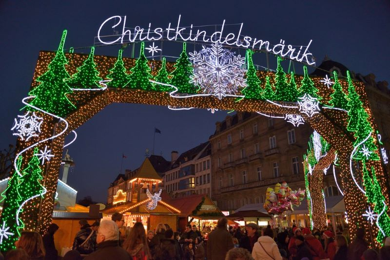 Strasbourg Christmas Market or Christkindelsmärik