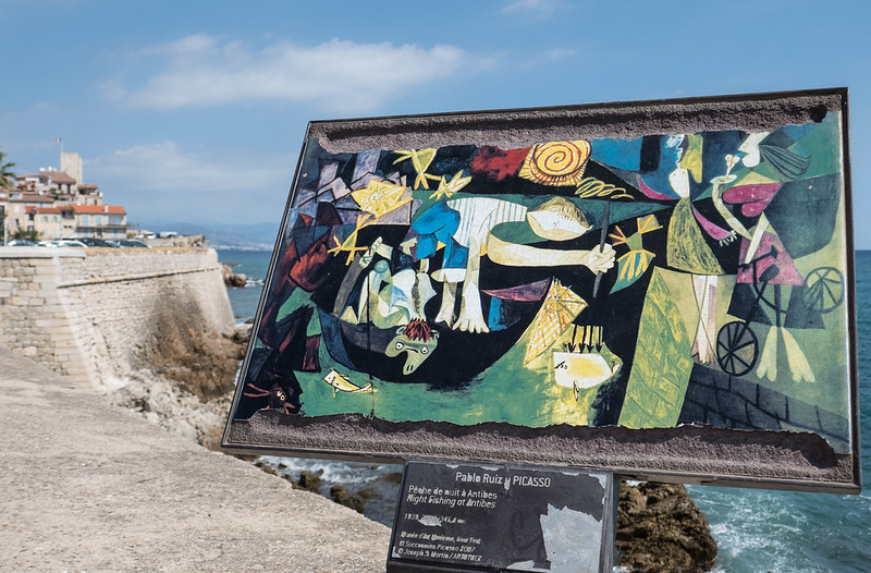 Trail of Artists Around Antibes