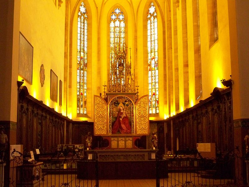 Colmar église des Dominicain