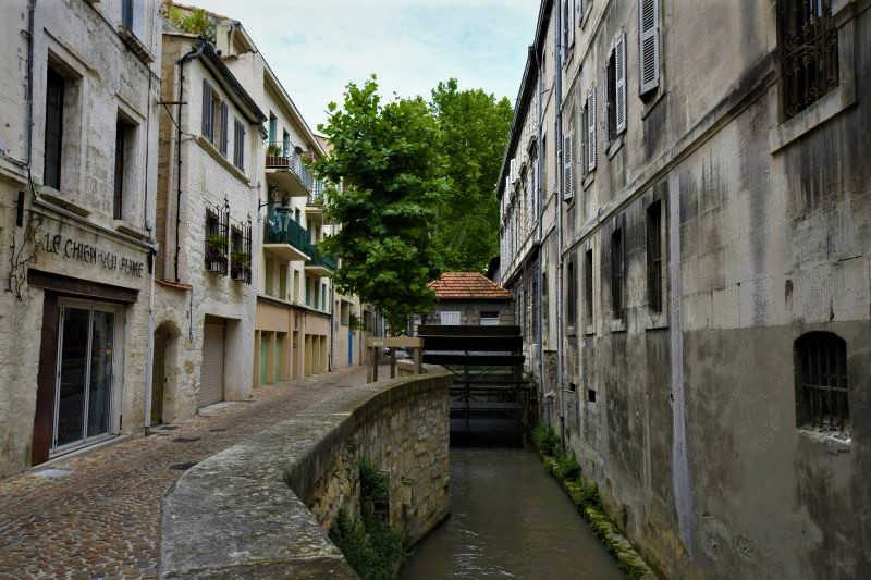 Rue de Teinturiers Avignon