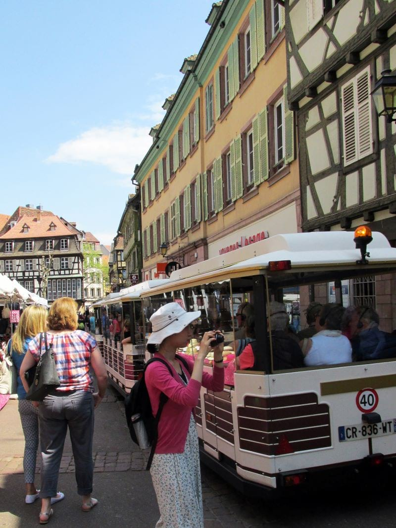Tourist train Colmar