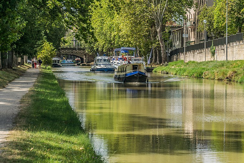 Canal du Midi cruise in Carcassonne