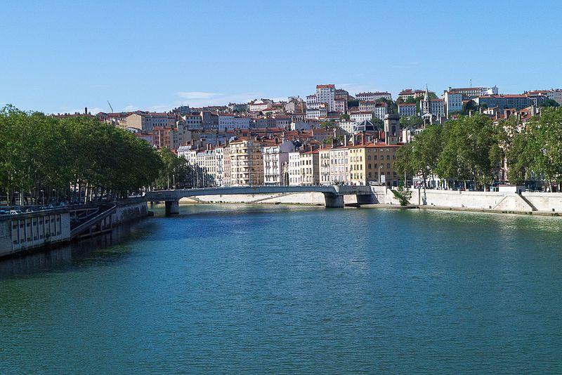 Rhône River lyon