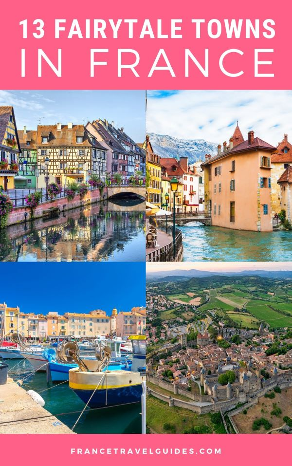 fairytale towns and cities in france