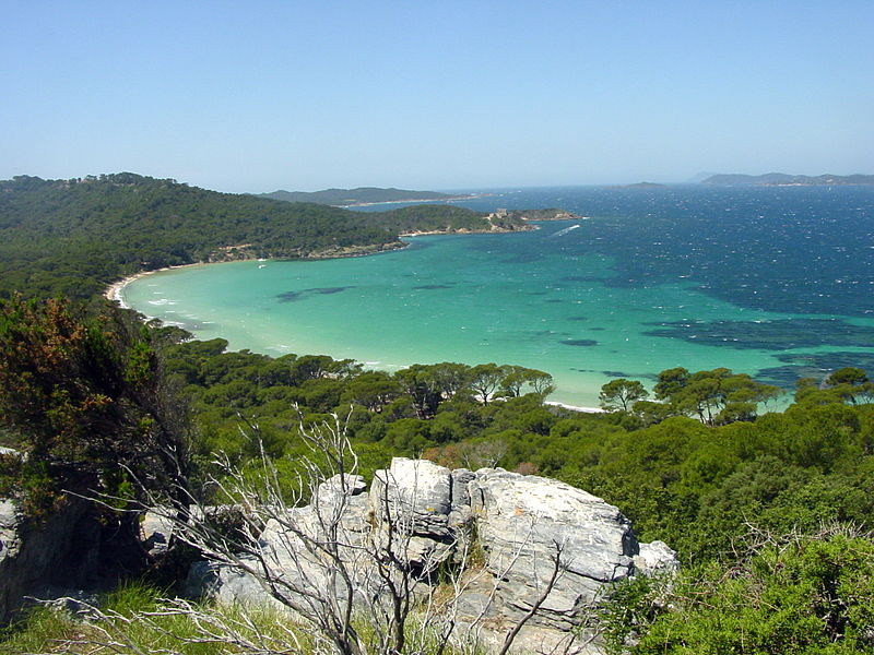 Porquerolles islands
