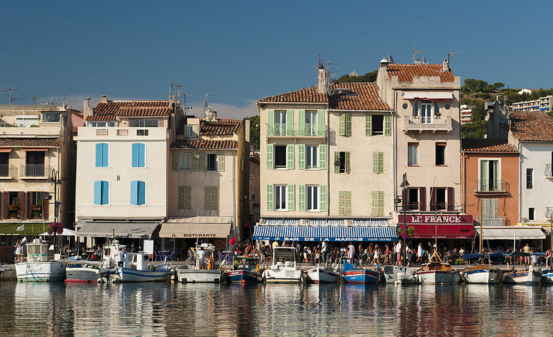 Cassis harbour Provence France