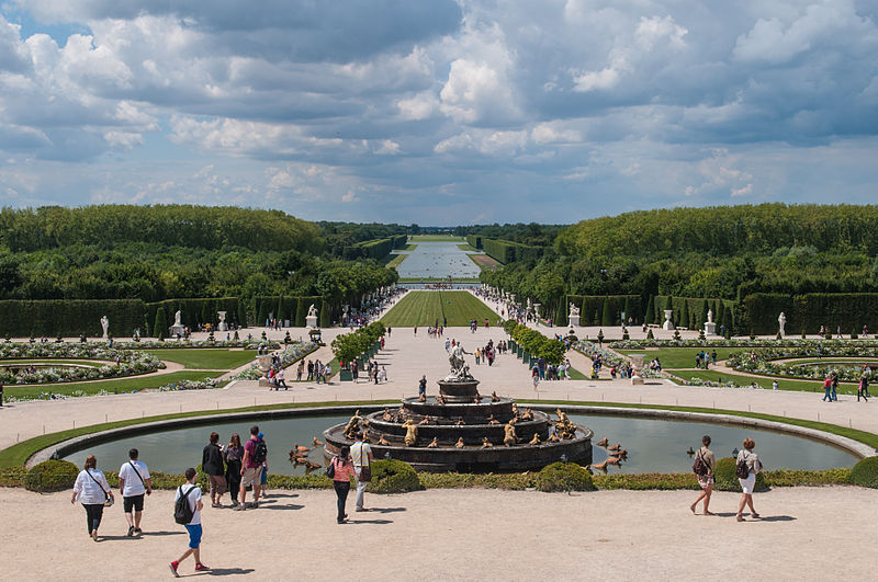 Gardens at Chateau de Versailles, France