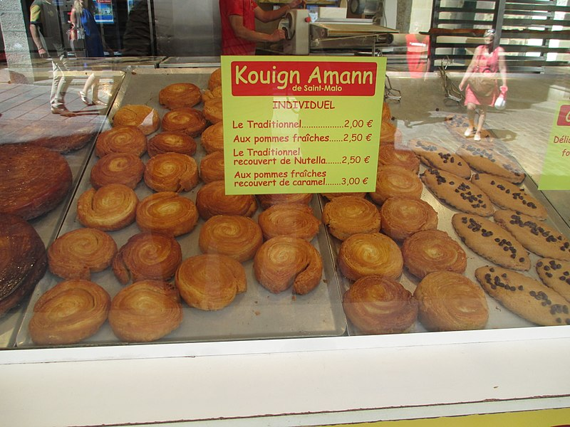 Kouign-amann in Saint Malo