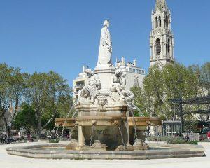 Nîmes esplanade