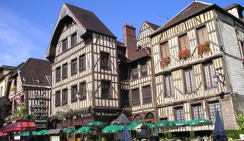 Troyes old town
