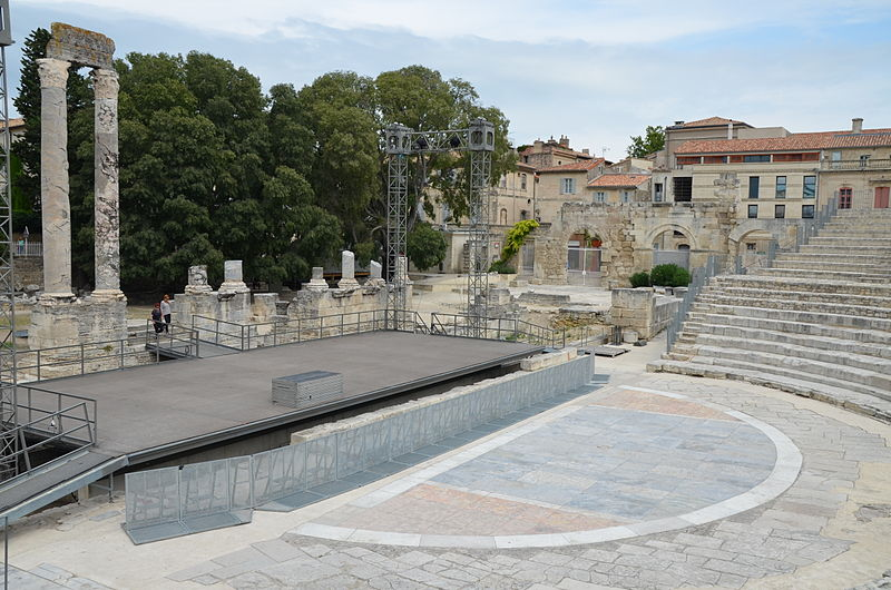 roman theater of arles