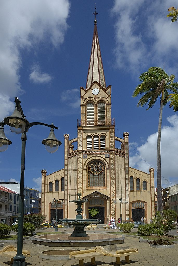 Cathedral of St Louis Martinique