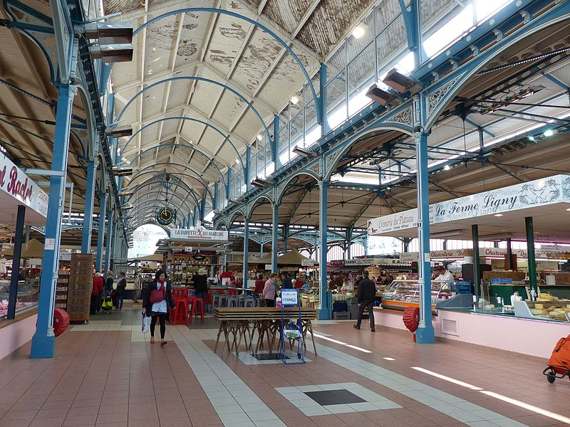 Les Halles covered market