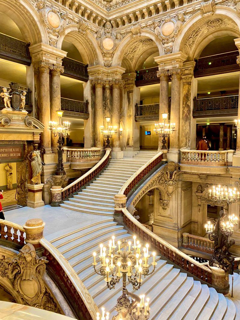Palais Garnier stairs