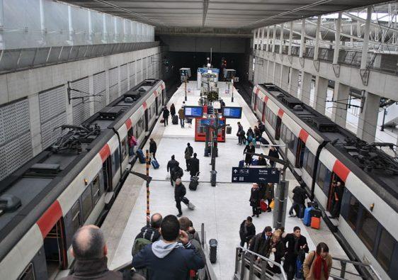 Paris Charles de Gaulle Airport RER B Station