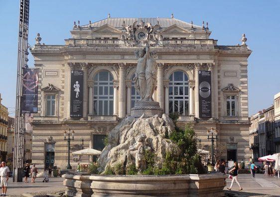 Place de la comedie Montpellier