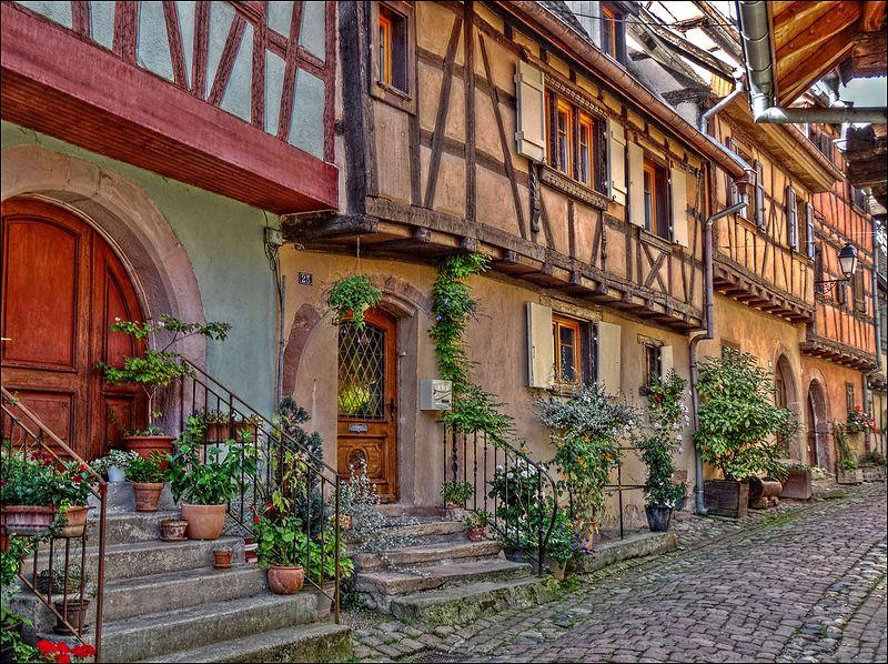 Rue du Rempart Sud, Eguisheim