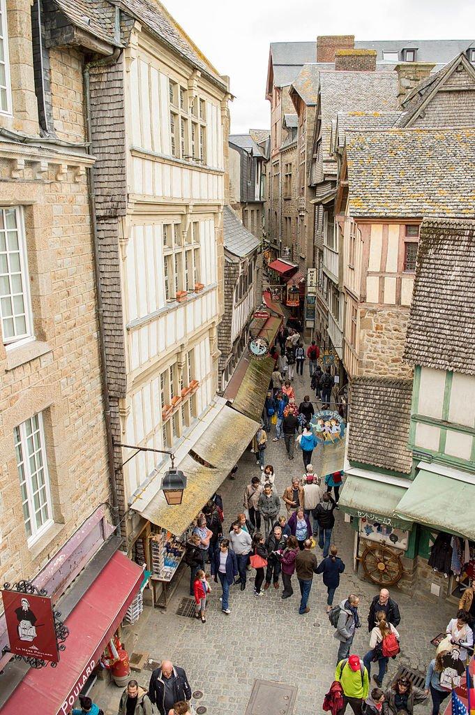 Grand Rue mont saint michel